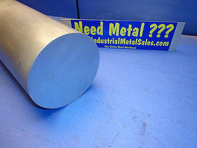 5dia X 2-long 6061 T6511 Aluminum Round Bar--5 Diameter 6061 Rod