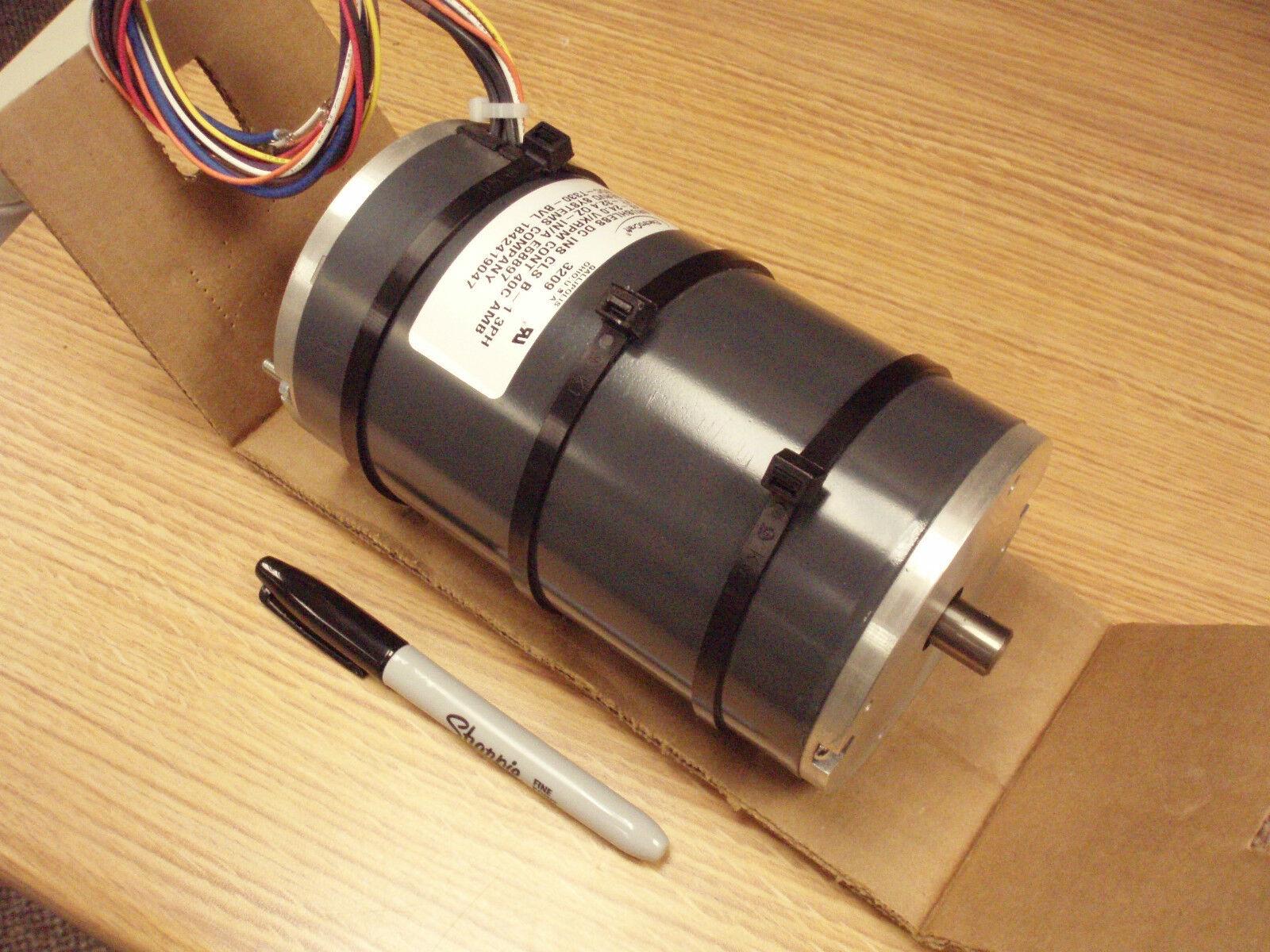 Electrocraft brushless dc servo motor peak torque 725 oz for Electro craft servo motor specifications