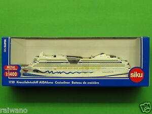 1:1400 Siku Super Serie 1720 Kreuzfahrtschiff AIDA