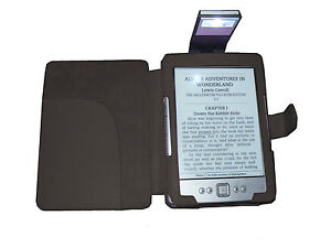 BLACK-PU-LEATHER-CASE-COVER-WITH-LED-LIGHT-FOR-AMAZON-NEW-KINDLE-4-WIFI-LIGHTER