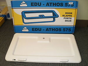 Caravan Motorhome white external access locker door with infill panel AD3