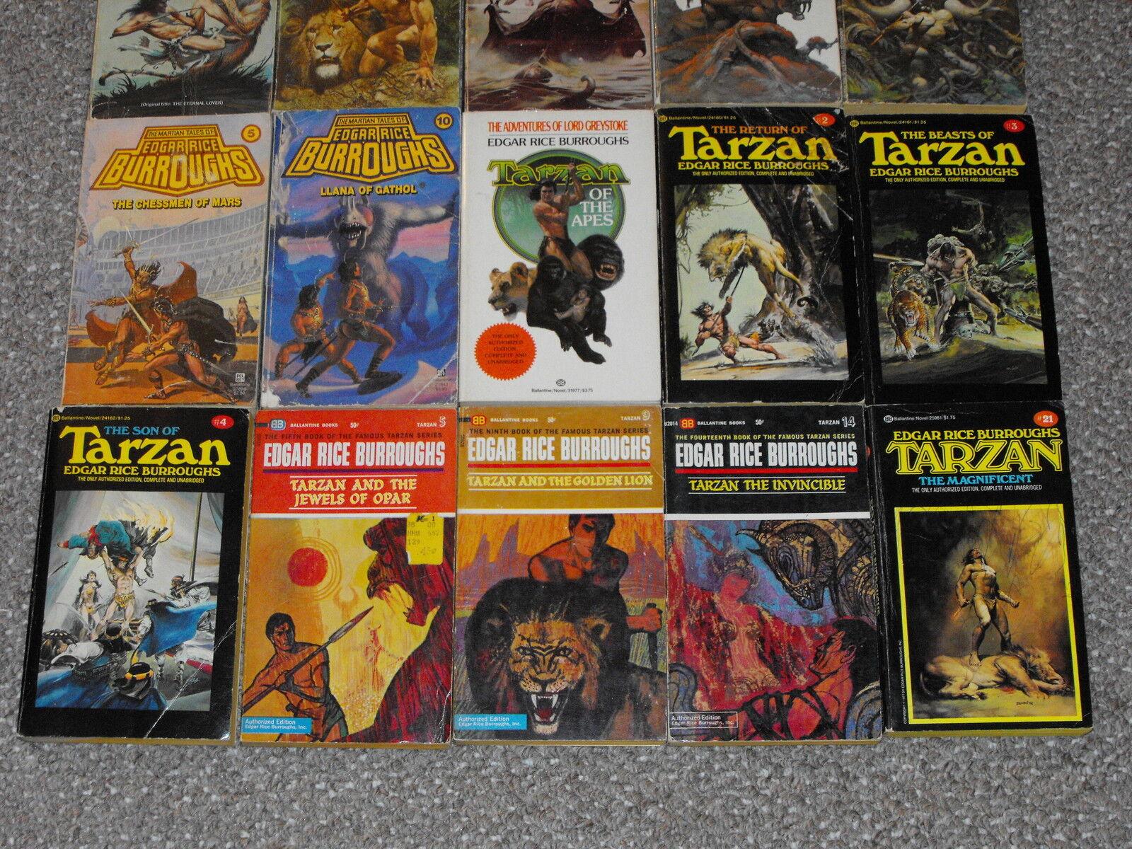 Lot Of 5 Edgar Rice Burroughs