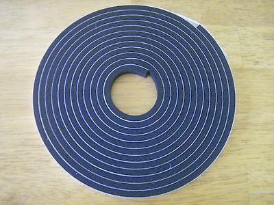 Marine Boat Hatch Seal Neoprene Tape- W/adhesive 1/2 Wide X 1/4 Tall X 20' 12