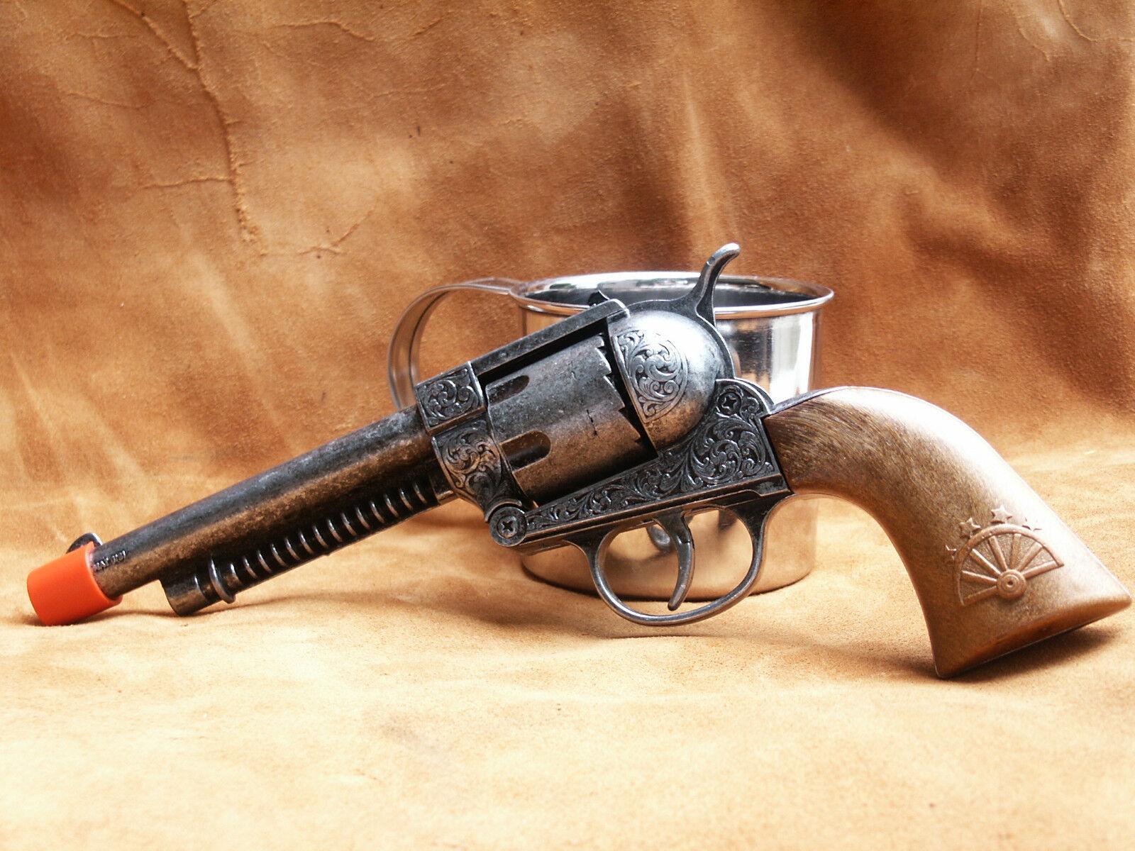 Parris Western Legends Lawman Die Cast Metal Cap Pistol Toys