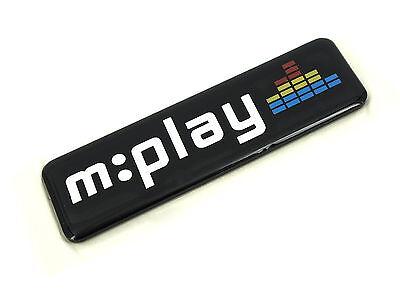 Genuine New PEUGEOT M:PLAY BADGE Emblem For 207 Hatchback 2007+ M Play 1.4