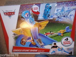 Disney Cars Stunt Racers Dinoco Stunt Show