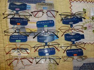 Magnivision-Foster-Grant-Reading-Glasses-Mens-Wire-Framed-Aviator-Retails-22