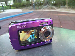 18MP underwater digital camera, Waterproof, Dual Screen, Lomo and Sketch Effects