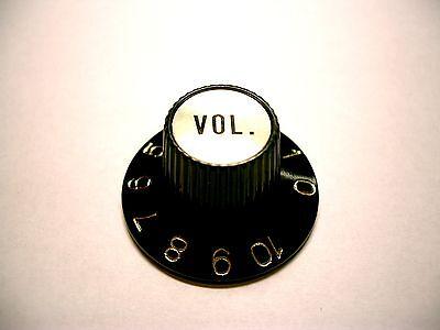göldo Witch Hat Volume Knob, universal Poti-knopf schwarz/gold