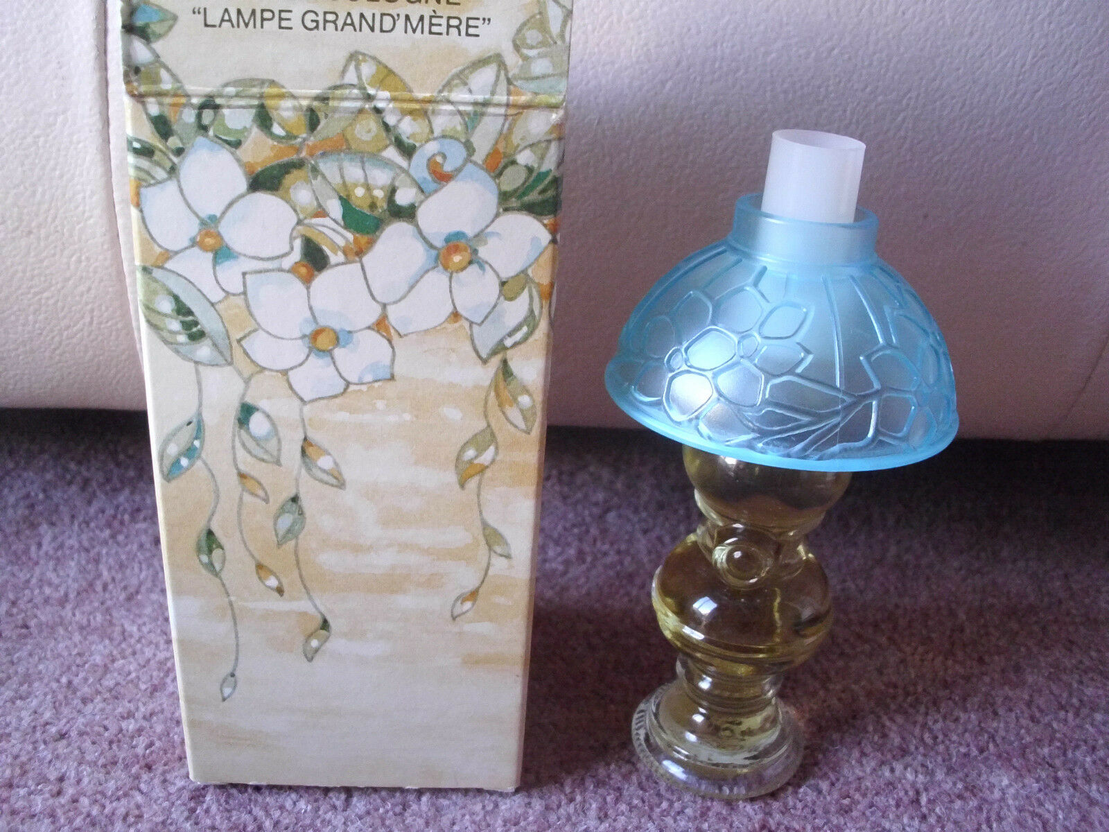 Vintage Avon Moonwind Eau De Cologne Perfume Lamp 30ml Bnib Collectable