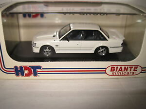 BIANTE 1/64 HOLDEN HDT BROCK COMMODORE VK GROUP 3 ALPINE WHITE AWESOME