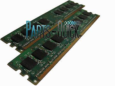 4gb Kit 2x 2gb Ddr2 Pc2-5300 667mhz Dell Optiplex 755 Dt/ Mt/ Sff/ Usff Memory