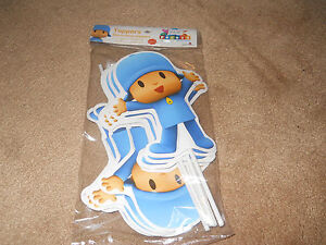 NEW-POCOYO-12-PIECE-PARTY-FAVOR-TOPPERS-DECORATIONS-9-INCHES-HIGH