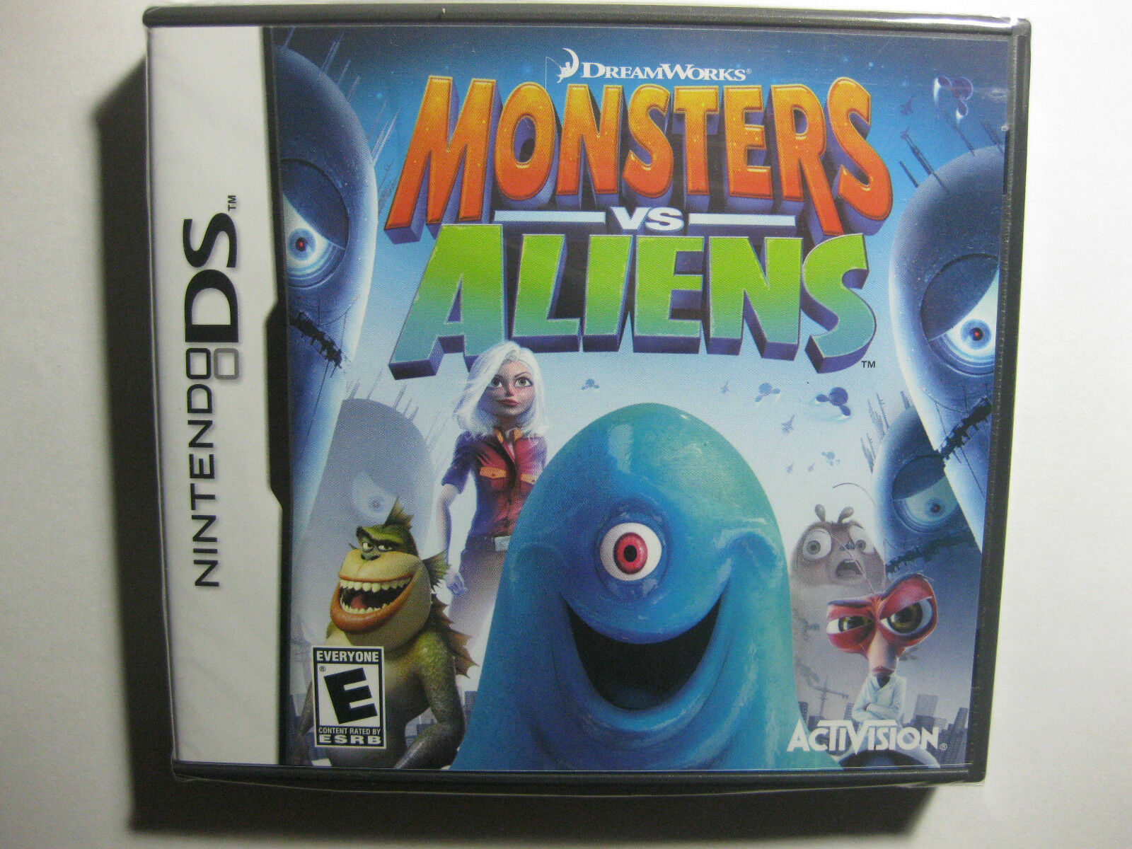 Monsters Vs. Aliens ( Nintendo Ds , 2009) Great Game & Price Sealed & on sale