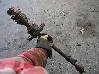 Allis Chalmers Wd45 Wd Tractor Short Steering Shaft With Worm Gear Knuckle