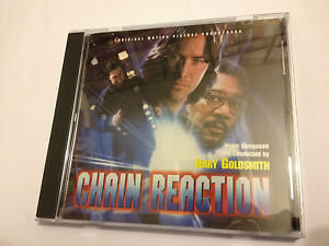 CHAIN-REACTION-Jerry-Goldsmith-OOP-1996-Varese-Soundtrack-Score-OST-CD-MINT