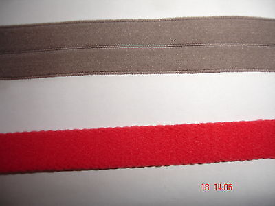 elastisches Band 0,25€/m 10 Meter MB90 rot