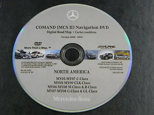 MERCEDES-BENZ-C-ML-R-GL-NAVIGATION-NAV-DVD-ROM-OEM-S0014-0075-908-BQ-6460253