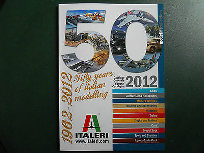 Italeri Catalogue Production 2012 146 Pages Couleurs Neuf