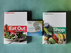 Weight-Watchers-360-Plan-Food-Points-Books-SHOP-EAT-OUT-CALCULATOR-Guide