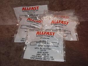 Flush-blind-rivets-cherrymax-NAS9302E-4-02-AF3222-4-02-CR3222-4-02-lot-500-pcs