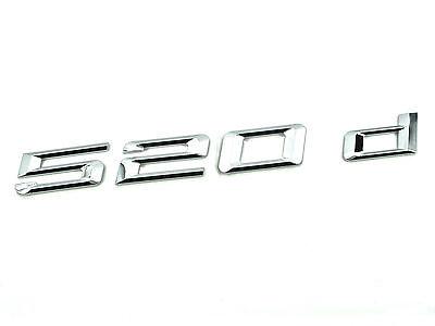 Kyпить Genuine New BMW 520d BOOT BADGE Emblem 5 Series 2010+ F10 F11 F18 Saloon Estate на еВаy.соm