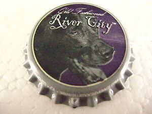 100 New ( River Cities Blue Dog Beverage) bottle, cap-crowns. Soda/ Root Beer