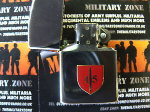 Army-Military-Regimental-Lighter-With-45-Commando-On-Front-shield