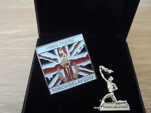OLYMPIC TORCH RELAY 2012 LIMITED EDITION BOXED BADGE PIN COLLECTORS SET