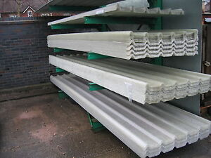BOX-PROFILE-GRP-FIBREGLASS-CLEAR-ROOF-LIGHTS-ROOFLIGHTS-ROOFING-SHEETS