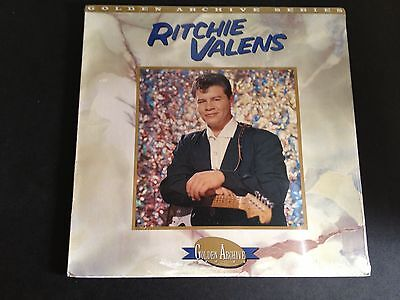 Ritchie Valens Rhino Golden Archives Series Lp Factory Sealed