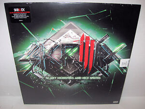 SKRILLEX-scary-monsters-nice-sprites-LP-MP3-SEALED-black-friday-RSD-180g-NEW