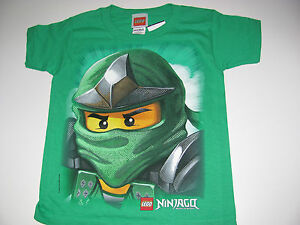 New-Lego-Ninjago-shirt-green-ninja-size-X-small-4-5
