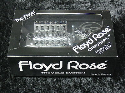 Floyd Rose Original Chrome Tremolo System Complete With Nut - NEW German Made on Rummage