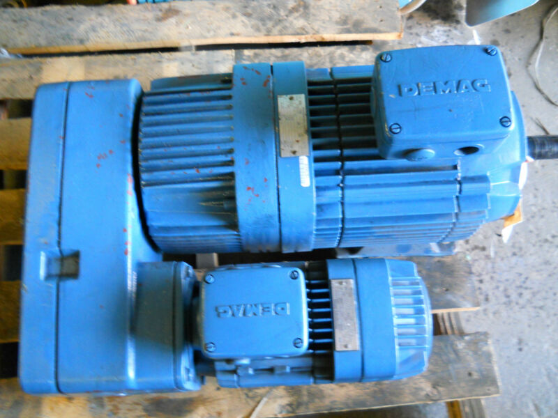 MANNESMANN DEMAG FG08 B3 U0 F3 H3 MICROSPEED GEARBOX MOTOR UNIT NEW CONDITION