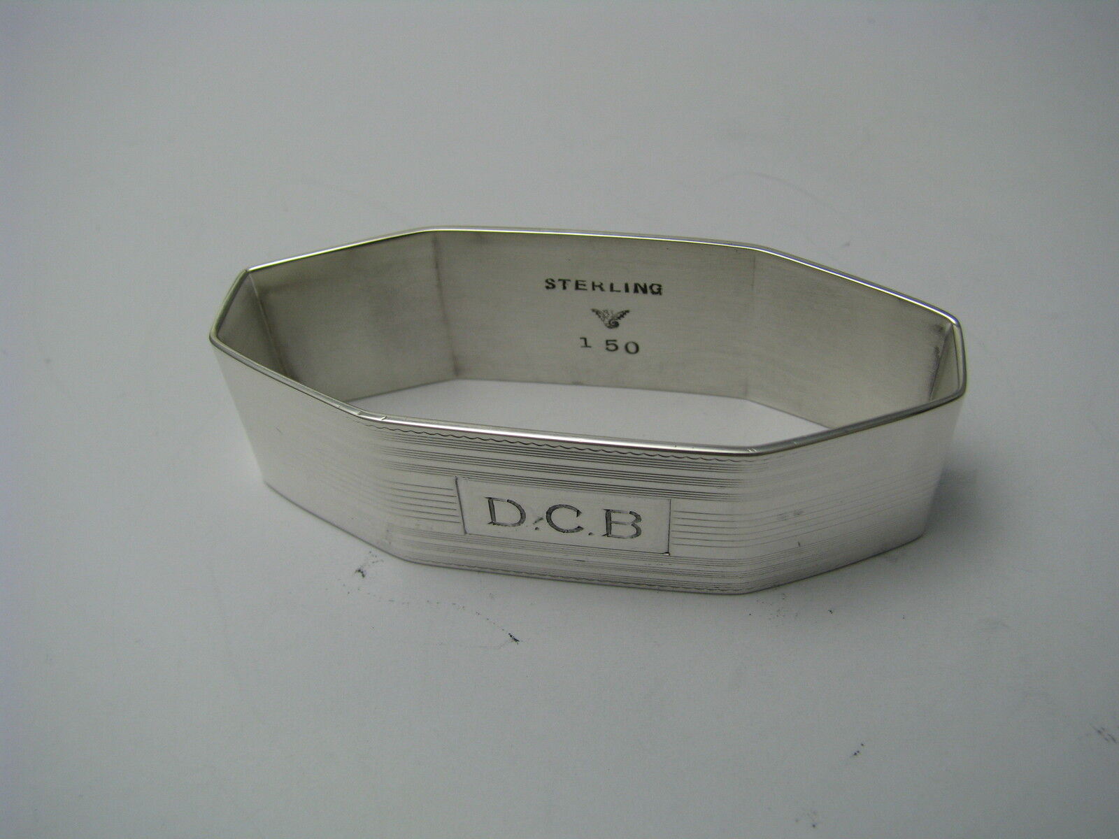 Solid Sterling Silver Napkin Rings