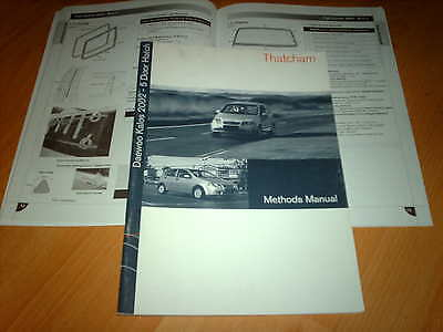 Body Repair Manual Daewoo Kalos 5 door 2001 on