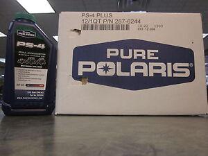 Pure Polaris 12 Quarts Full Synthetic 5w50 4 Stroke Motor