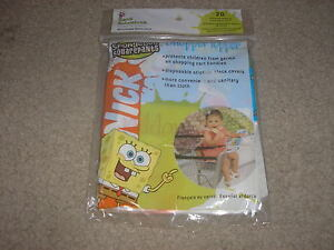 New-20-Pack-SpongeBob-SquarePants-Shopper-Topper-Cart-Cover