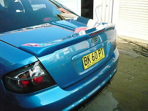 FORD BA BF FALCON DJR REAR BOBTAIL SPOILER WITH LED