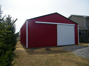 Pole barn package 30x40x10 kit garage post frame plans for Barn packages for sale