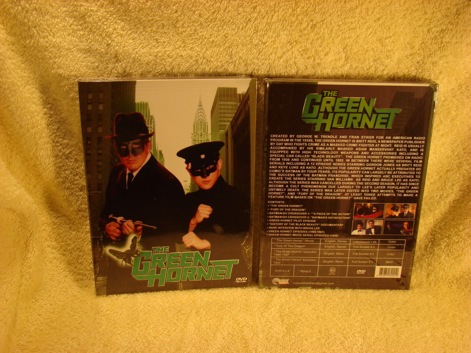 The Green Hornet ( 4 Discs-ultimate Collection Digipak ) - Sealed