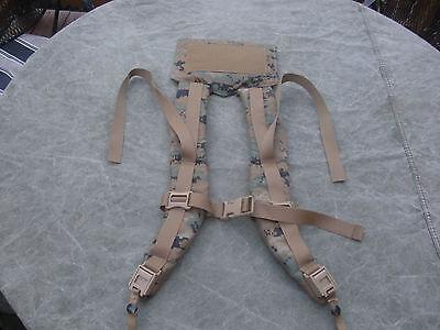 New USMC MARPAT ILBE Arcteryx Main Pack Shoulder Straps for Backpack