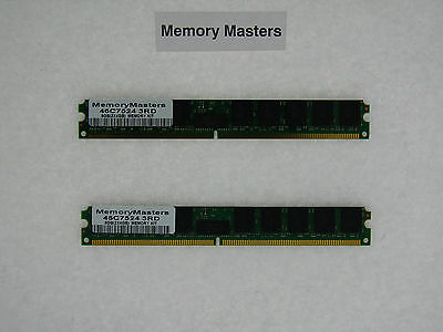 46c7524 8gb 2x4gb Ddr2 Pc2-5300 Ecc Reg Memory Vlp Ibm Bladecenter