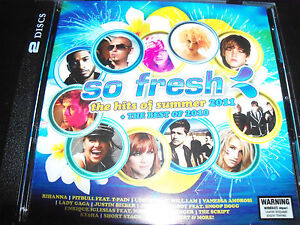 So Fresh The Hits Of Summer 2011 + The Best Of 2010 – 2 CD - NEW