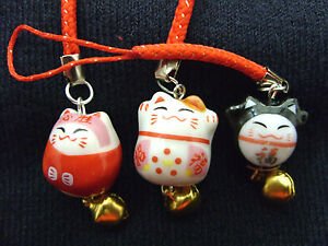 A-Cute-Japanese-Lucky-Maneki-Neko-Bell-Cat-Mobile-Phone-Bag-Handbag-Zip-Charm