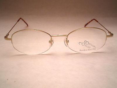 Otego Optical Mod: Roxy-flex Col Gold Womens Vintage 80's Glasses (c5)
