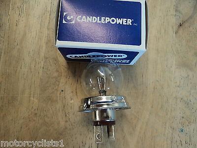 Candlepower 4160 12v 60/60w Headlight Bulb Honda Yamaha Suzuki Kawasaki Lot Of 2