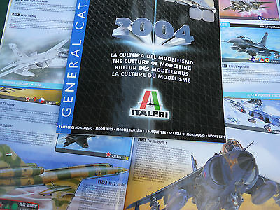 Italeri Catalogue Production 2004 110 Pages Neuf