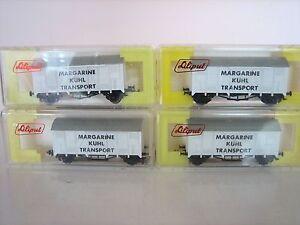 Liliput-H0-Vagone-di-raffreddamento-vagone-Margarine-per-Marklin-stato